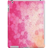 Delightful pink and gold iPad Case/Skin