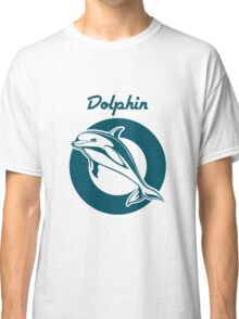 Dolphin Emblem   Classic T-Shirt