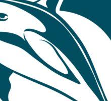 Dolphin Emblem   Sticker