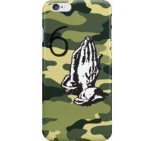 DRAKE CAMMO (6 God Praying Hands) iPhone Case/Skin