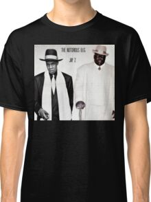 Jay-Z & Biggie Smalls Stage Performing 1990s Rap Classic T-Shirt