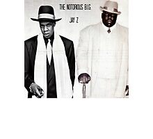 Jay-Z & Biggie Smalls Stage Performing 1990s Rap Photographic Print