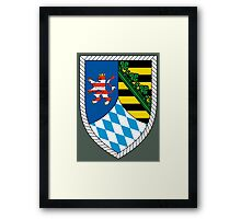 13th Panzergrenadier Division (Bundeswehr - Historical) Framed Print