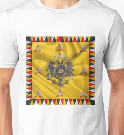 Imperial Crown of Austria over Standard of the Emperor Unisex T-Shirt