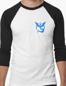 Pokemon Go | Team Mystic | Black Background | Small | New! | High Quality! Men's Baseball ¾ T-Shirt