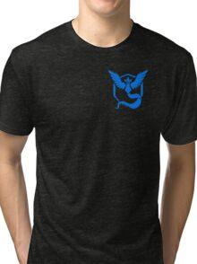 Pokemon Go | Team Mystic | Black Background | Small | New! | High Quality! Tri-blend T-Shirt