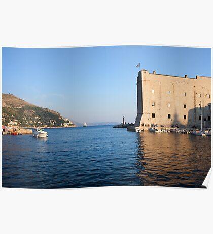 Dubrovnik Bay Poster