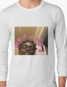 Kodak Black Hearts Long Sleeve T-Shirt