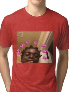Kodak Black Hearts Tri-blend T-Shirt