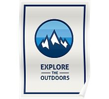 Explore the Outdoors (2nd Edition) Poster
