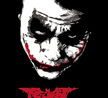 The Dark Knight Joker Why so serious by taufiq