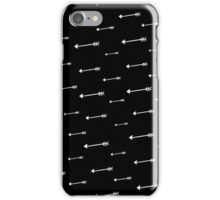 Arrows | Black iPhone Case/Skin