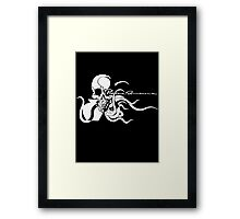 Metal Gear Solid 4 - Pieuvre Armement (White) Framed Print
