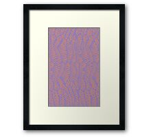 Arrows Up and Down Framed Print