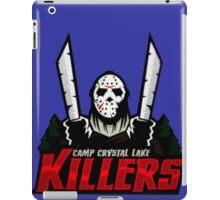 Camp Crystal Lake Killers iPad Case/Skin