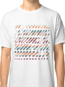Tribal Paint Strokes Classic T-Shirt