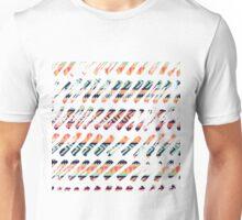 Tribal Paint Strokes Unisex T-Shirt