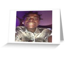 Kodak Black Grill Greeting Card