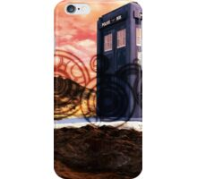 Doctor Who - Tardis, Gallifrey and Doctor's Name iPhone Case/Skin
