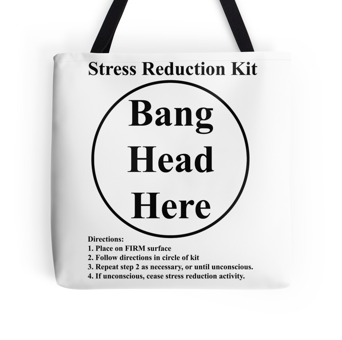 Quot Stress Reduction Kit Quot Tote Bags By Arunsundibob Redbubble