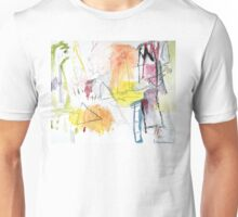 Summer Water Color Fantasy Unisex T-Shirt