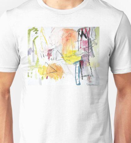 Summer Water Color Fantasy Unisex T-Shirt