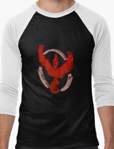 Voxel Valor Men's Baseball ¾ T-Shirt