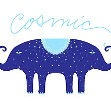 Cosmic Elephant  by SusanSanford