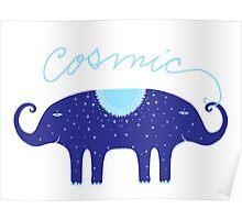Cosmic Elephant  Poster