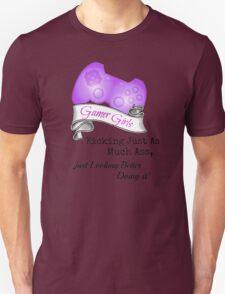 Gamer Girls Kick Ass Unisex T-Shirt
