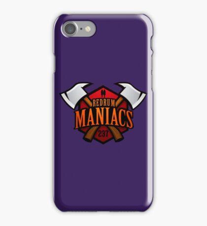 Redrum Maniacs iPhone Case/Skin