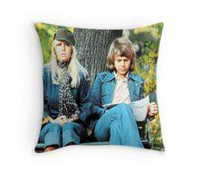 ABBA's kiss! Agnetha and Bjorn lovely design!~ Throw Pillow
