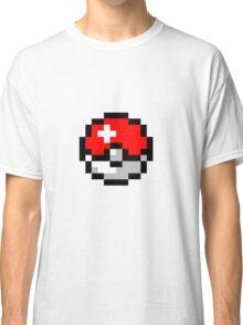 8bit Pokeball Classic T-Shirt