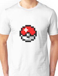 8bit Pokeball Unisex T-Shirt