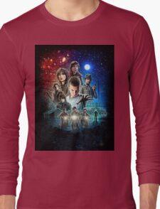 Stranger Things (old poster) Long Sleeve T-Shirt