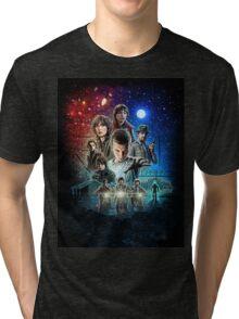 Stranger Things (old poster) Tri-blend T-Shirt