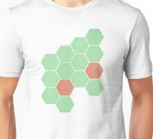 Mint Honeycomb Unisex T-Shirt