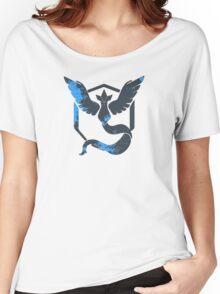 Pokemon GO: Team Mystic Design II (Team Blue) Women's Relaxed Fit T-Shirt