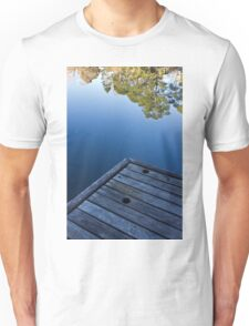 At the end of the pier Unisex T-Shirt