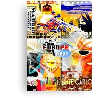 see europe next Canvas Print