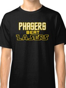 Phasers Beat Lasers Classic T-Shirt