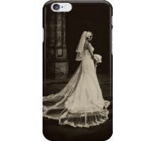 Dead Bride (sepia) iPhone Case/Skin