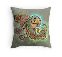 Cornucopia Throw Pillow