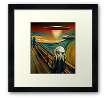 Paul Scream Framed Print
