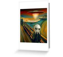 Paul Scream Greeting Card