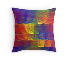Rainbow Patch II Throw Pillow