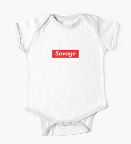 Savage One Piece - Short Sleeve
