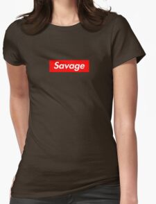 Savage Womens Fitted T-Shirt