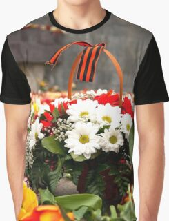 Flower Day Graphic T-Shirt
