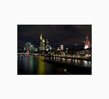Frankfurter Skyline in the Night  Unisex T-Shirt